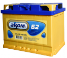 Аккумулятор АКОМ  6СТ - 62