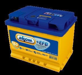 АКОМ  EFB 6СТ - 60 Евро