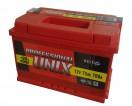 Аккумулятор 6СТ - 75 Unix Professional new п/п