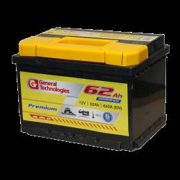 6СТ - 62 General Technologies Premium п/п